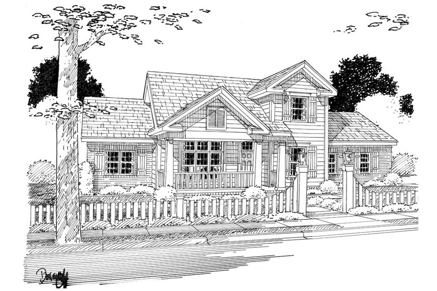 178-1264: Home Plan Rendering