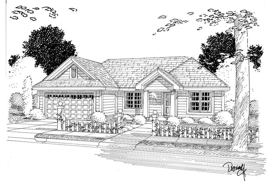 178-1265: Home Plan Rendering