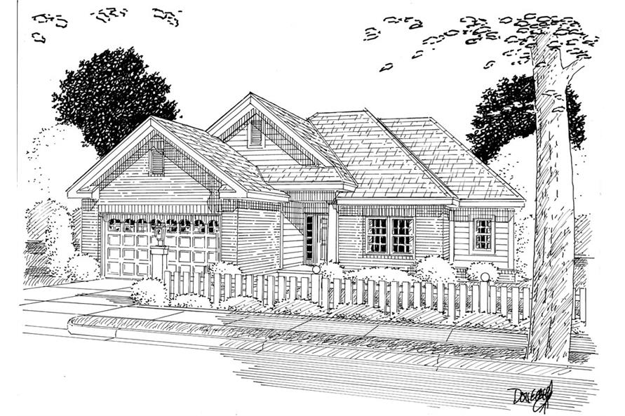 178-1266: Home Plan Rendering