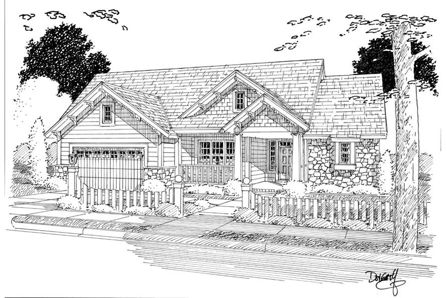 178-1267: Home Plan Rendering