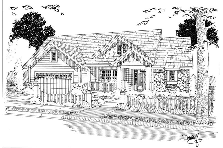 178-1267: Home Plan Rendering