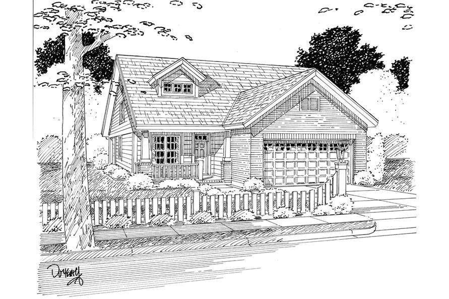 178-1269: Home Plan Rendering