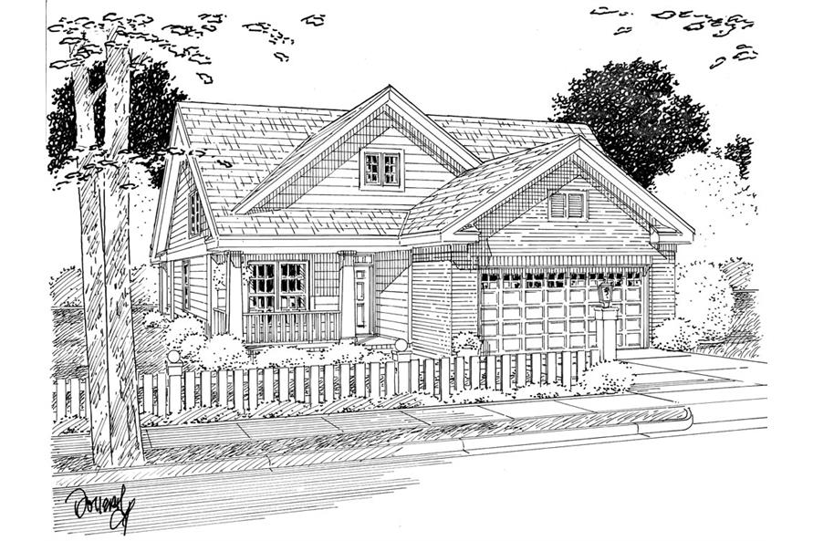 178-1270: Home Plan Rendering