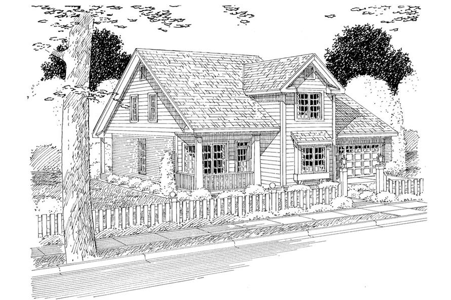 178-1271: Home Plan Rendering