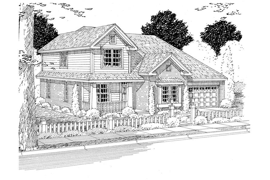 178-1272: Home Plan Rendering