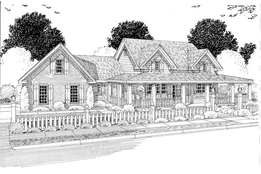 178-1273: Home Plan Rendering