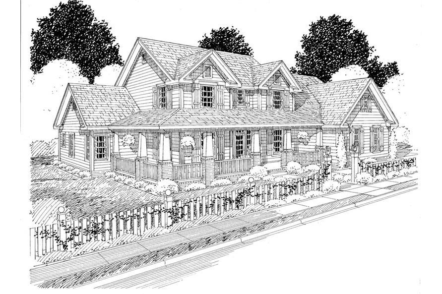 178-1274: Home Plan Rendering