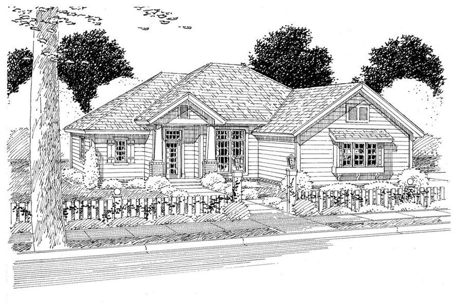 178-1275: Home Plan Rendering