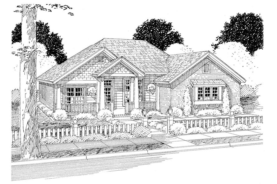178-1276: Home Plan Rendering