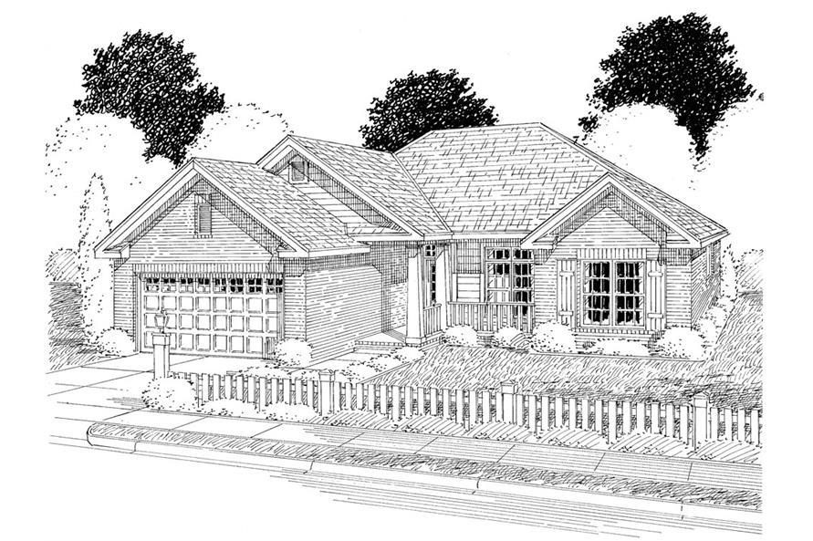 178-1277: Home Plan Rendering
