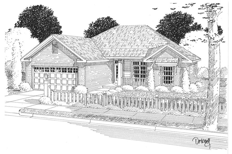 178-1278: Home Plan Rendering