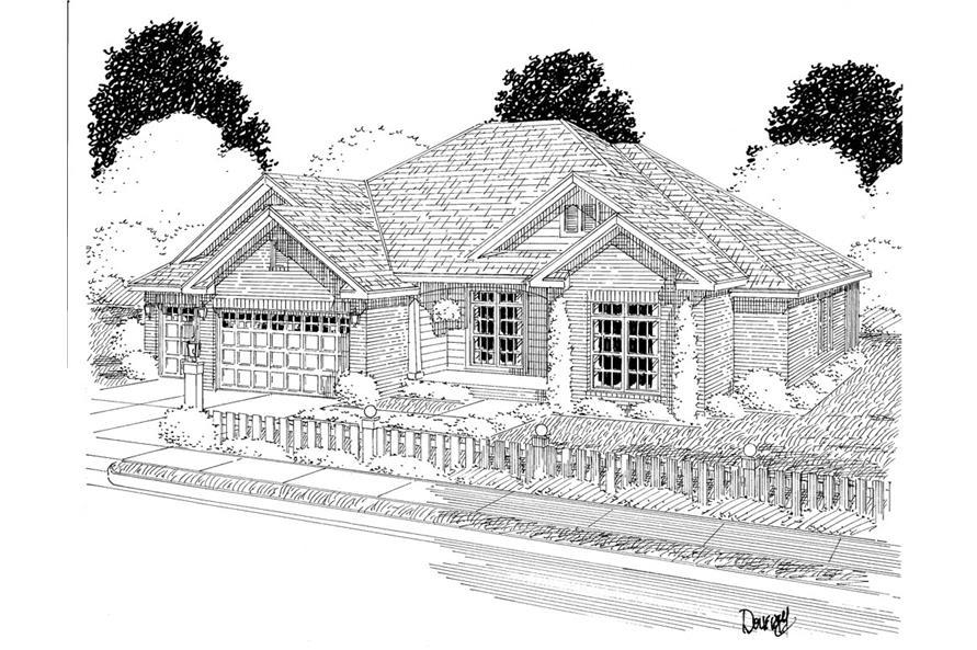 178-1280: Home Plan Rendering