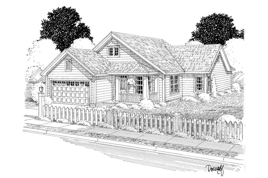 178-1282: Home Plan Rendering