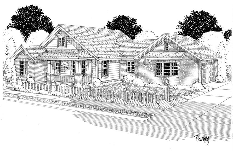 178-1283: Home Plan Rendering