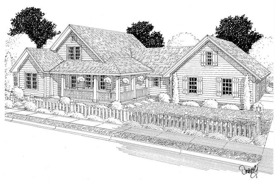 178-1284: Home Plan Rendering