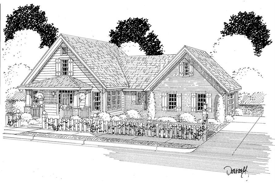 178-1285: Home Plan Rendering