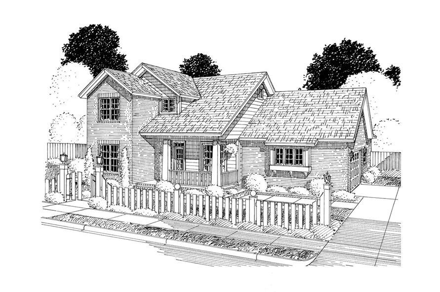 178-1295: Home Plan Rendering