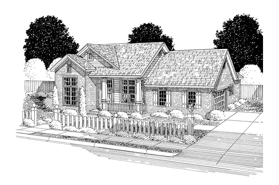 178-1296: Home Plan Rendering