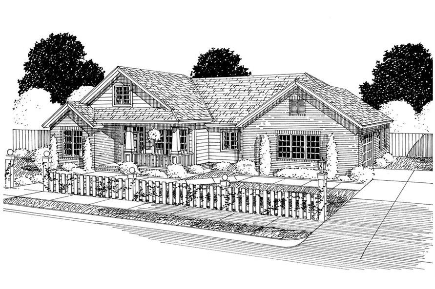 178-1297: Home Plan Rendering