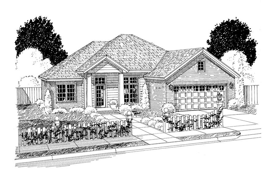 178-1299: Home Plan Rendering