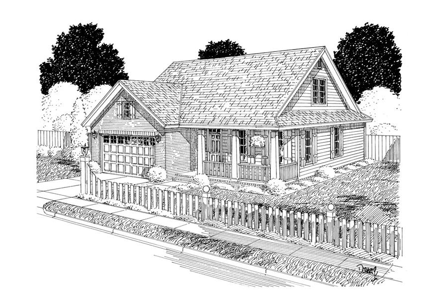 178-1302: Home Plan Rendering