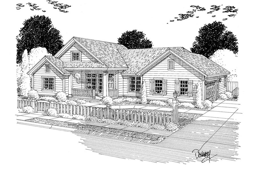 178-1304: Home Plan Rendering