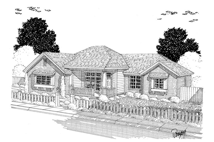 178-1305: Home Plan Rendering