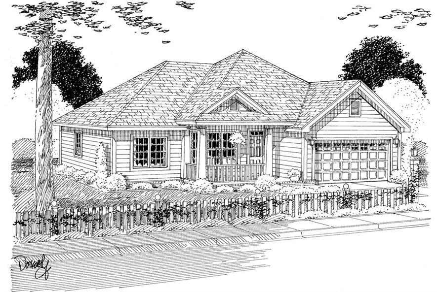 178-1306: Home Plan Rendering