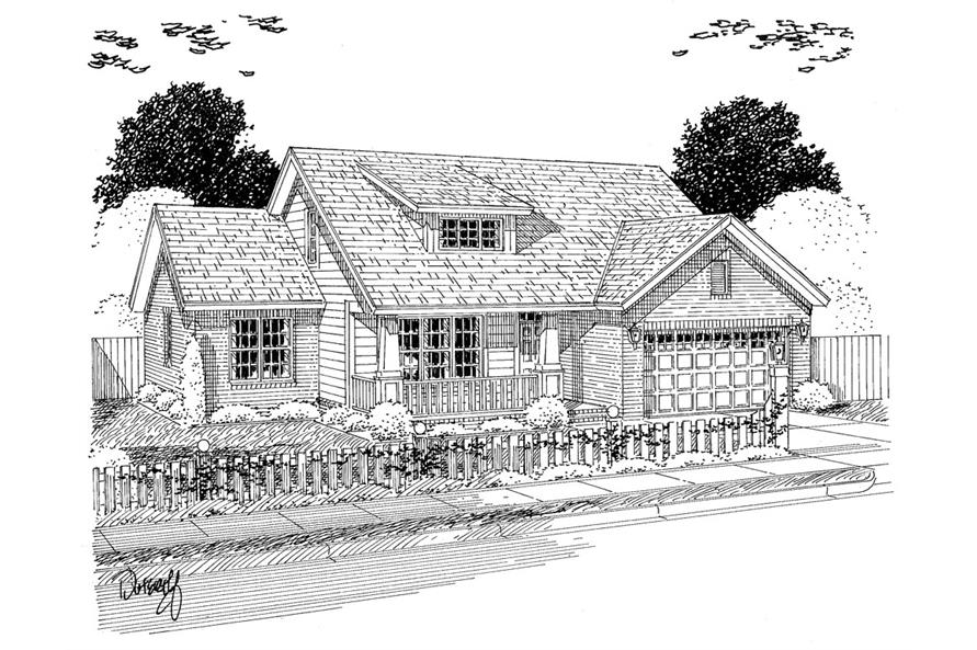 178-1307: Home Plan Rendering