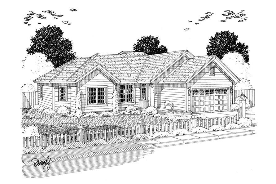178-1308: Home Plan Rendering