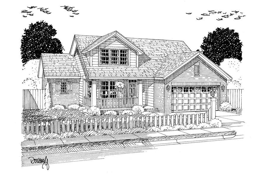 178-1310: Home Plan Rendering