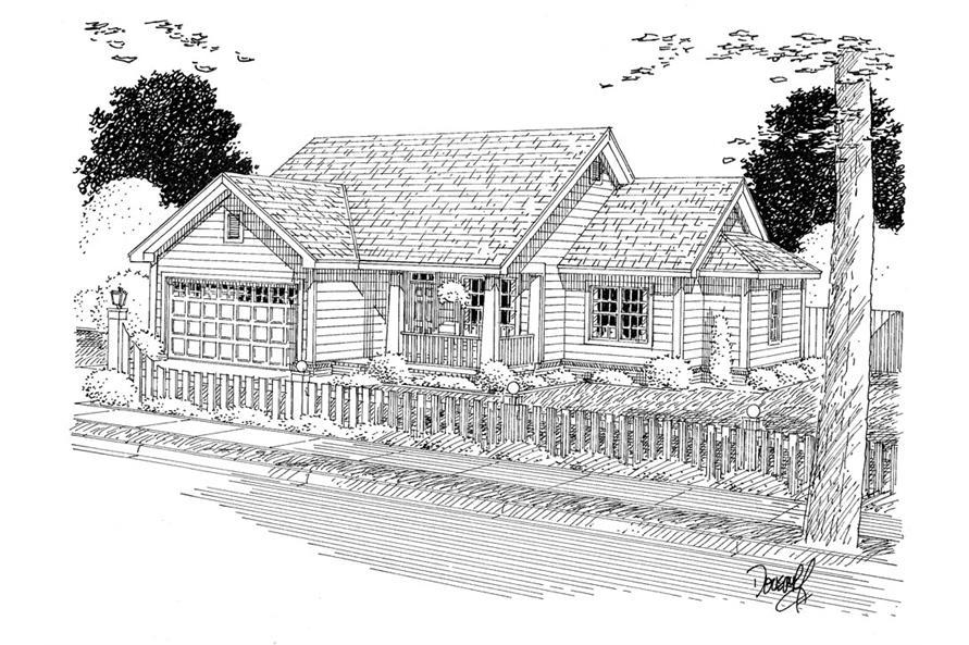 178-1312: Home Plan Rendering