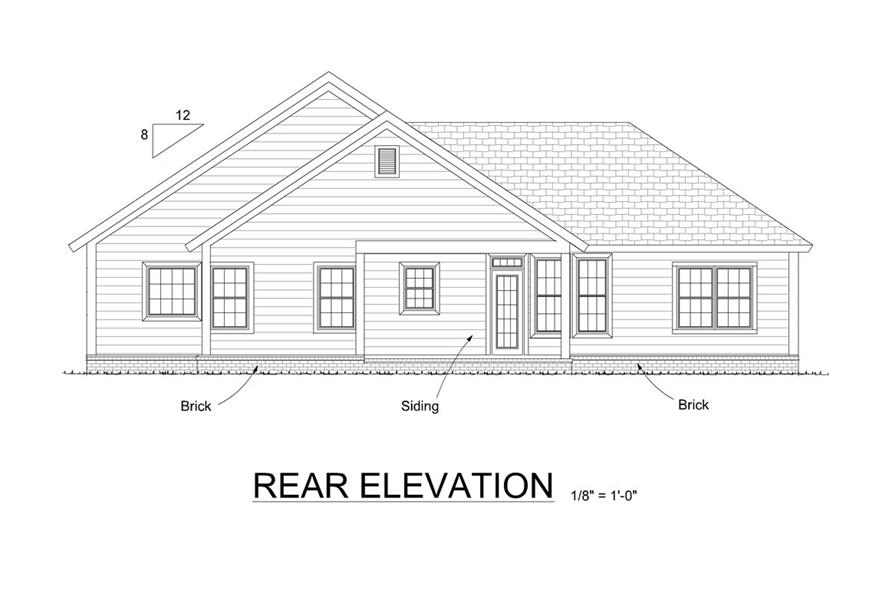 178-1313: Home Plan Rendering