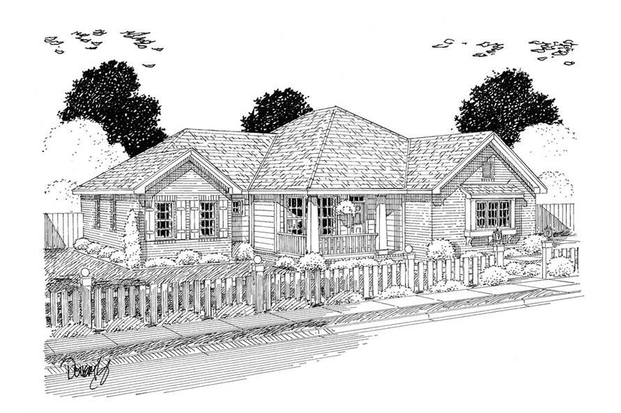 178-1314: Home Plan Rendering