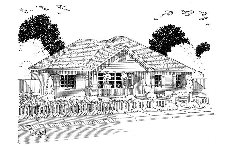 178-1315: Home Plan Rendering