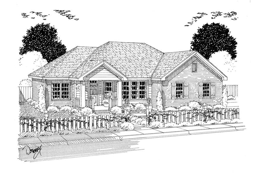 178-1316: Home Plan Rendering