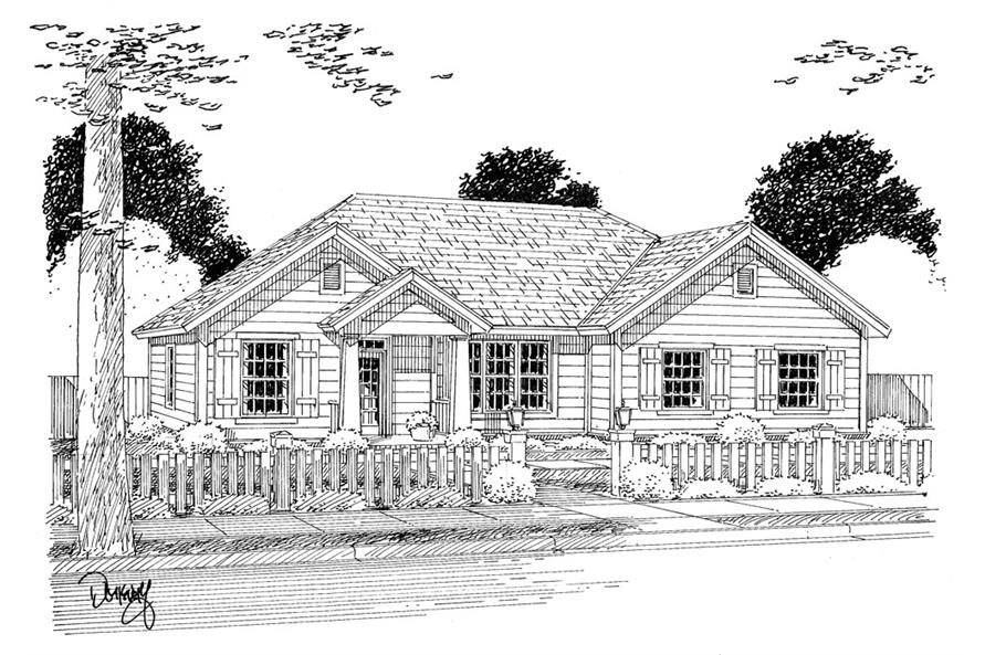 178-1317: Home Plan Rendering