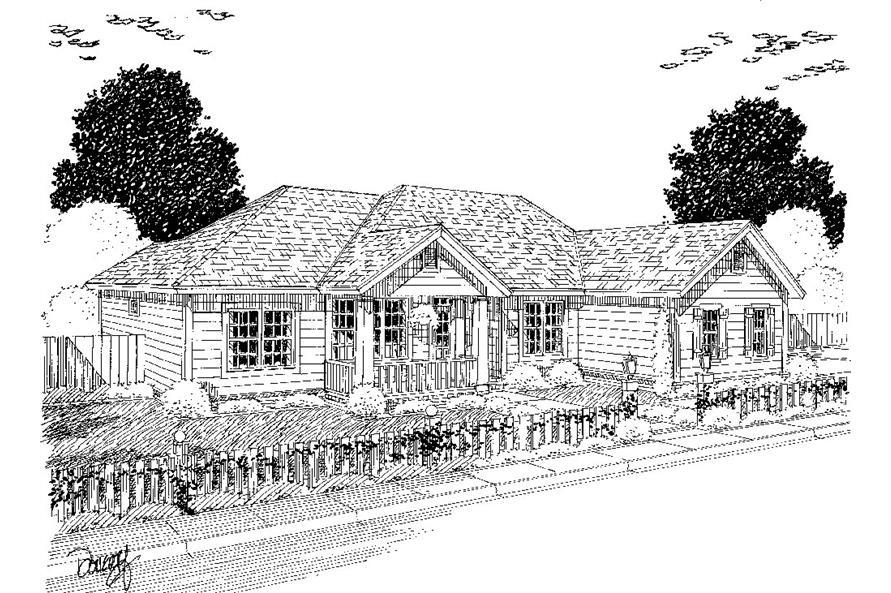 178-1318: Home Plan Rendering