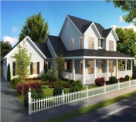 House Plan #178-1322