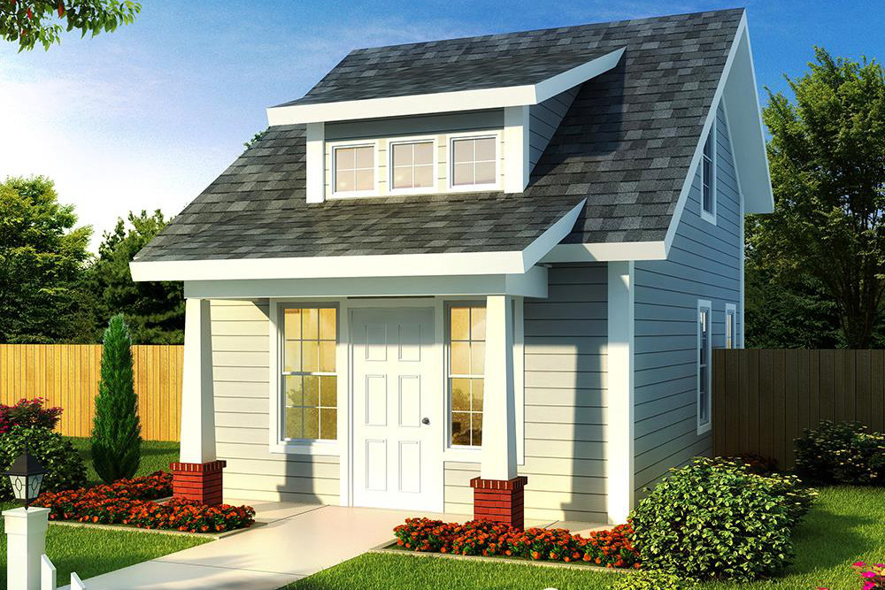 178 1346 Color rendering of Cottage home
