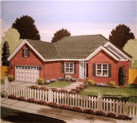 House Plan #178-1351