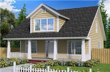 4-Bedroom, 1871 Sq Ft Craftsman Home Plan - 178-1354 - Main Exterior
