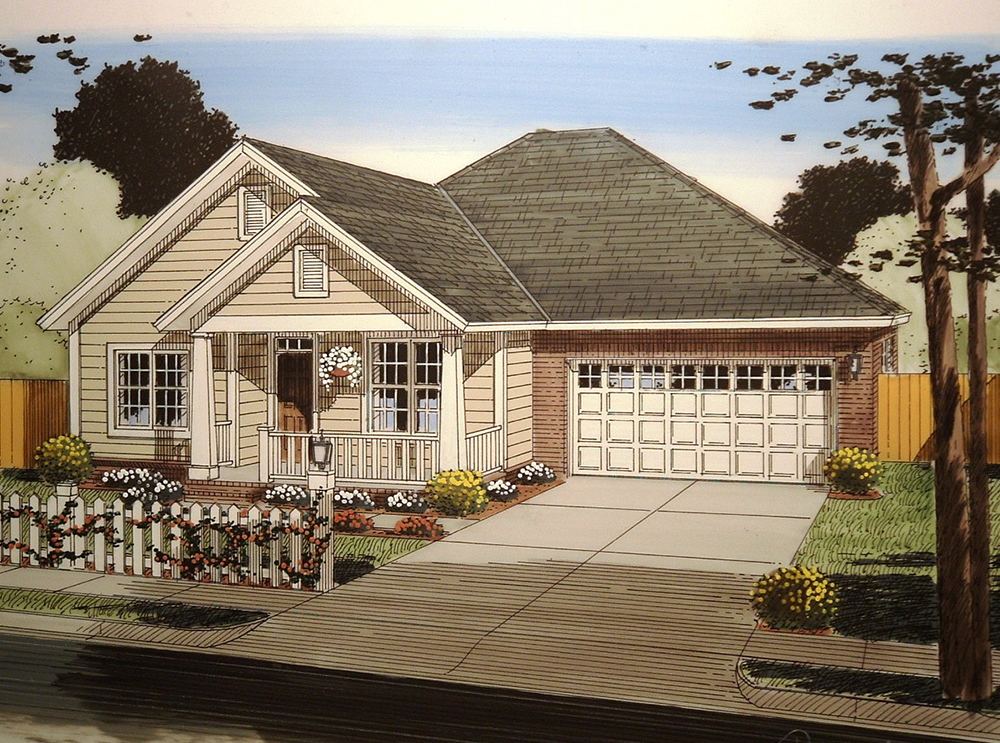 4 bedrm 1694 sq ft craftsman house plan 178 1357 - Casas de una sola planta ...