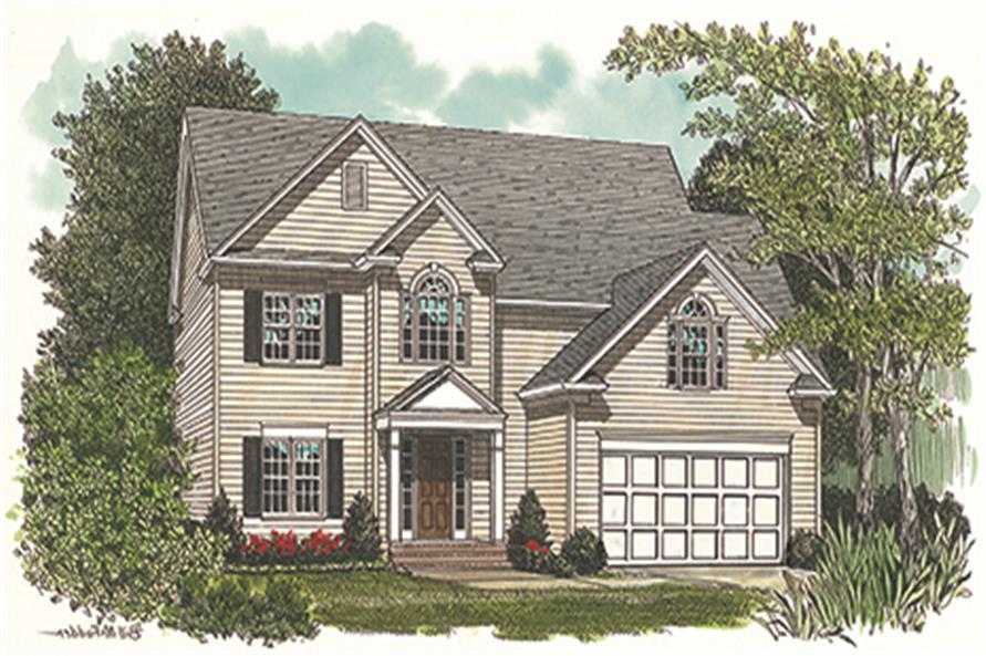 180-1004: Home Plan Rendering