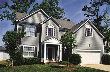 3-Bedroom, 1764 Sq Ft Traditional Home Plan - 180-1004 - Main Exterior