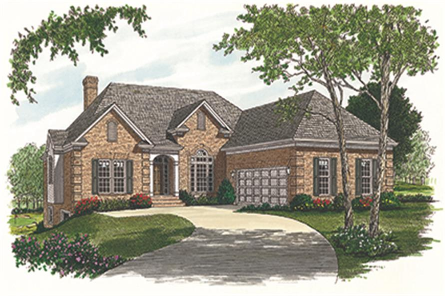 180-1006: Home Plan Rendering