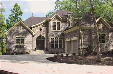3-Bedroom, 2443 Sq Ft Country House Plan - 180-1009 - Front Exterior