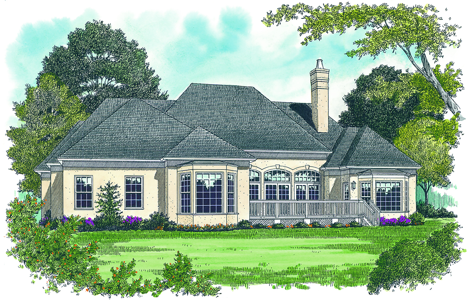 2500 sq ft french manor house plan 180 1010 3 bedrm home