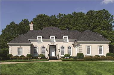 3-Bedroom, 2500 Sq Ft European Home Plan - 180-1010 - Main Exterior