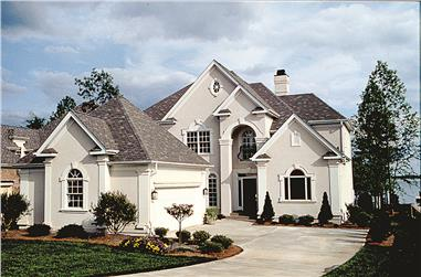 4-Bedroom, 2894 Sq Ft Traditional Home Plan - 180-1012 - Main Exterior